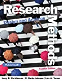 img - for Research Methods, Design, and Analysis (12th Edition) book / textbook / text book