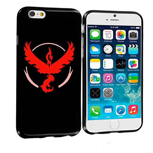 Okay-mobile-Silicon-Case-Funda-TPU-Silicona-h-X178-lle-Bumper-Case-Funda-for-iPhone-5-Pokemon-Go-Team-Rojo-wagemut-I-lavados