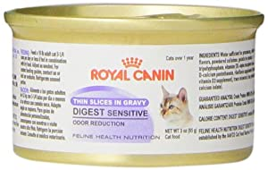 Royal Canin 24-Can Feline Health Nutrition Digest Sensitive Canned Cat Food, 3-Ounce Per Can