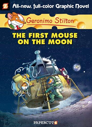Geronimo Stilton - Geronimo Stilton Graphic Novels #14: The First Mouse on the Moon