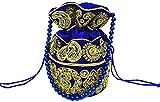 Di Classe's Womens Potli (Blue)