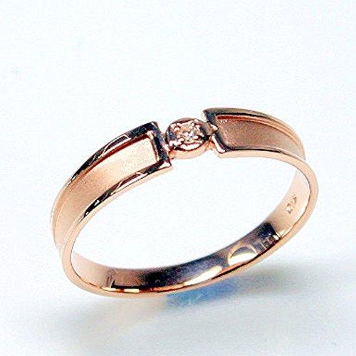 [ココカル]cococaru ダイヤモンド K10 ピンクゴールド リング 指輪 天然 ダイヤ 日本製