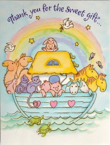 56 Noahs Ark Thank You Cards