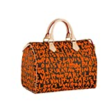 Louis Vuitton Monogram Graffiti Speedy 30 - Orange ~ Louis Vuitton