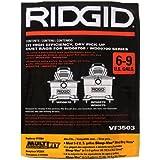 Ridgid VF3503 Dust Bags