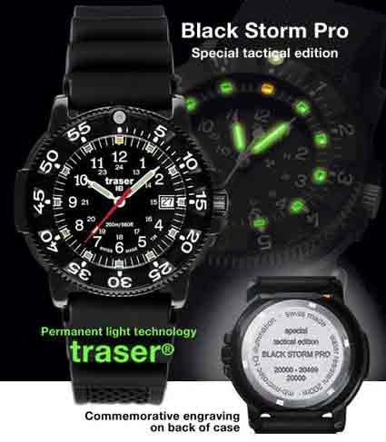 Traser Black Storm Pro Watch Special Tactical