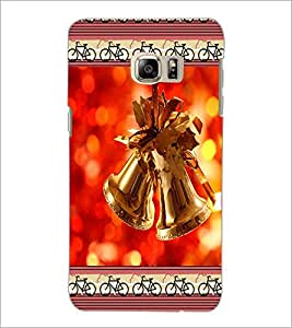 PrintDhaba Christmas Bells D-2515 Back Case Cover for SAMSUNG GALAXY NOTE 5 (Multi-Coloured)