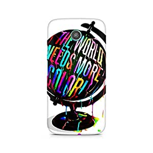 Mobicture Girl Abstract Premium Printed Case For Moto G