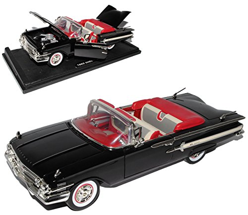 chevrolet-chevy-impala-ss-cabrio-schwarz-1-generation-1960-1-18-motormax-modell-auto