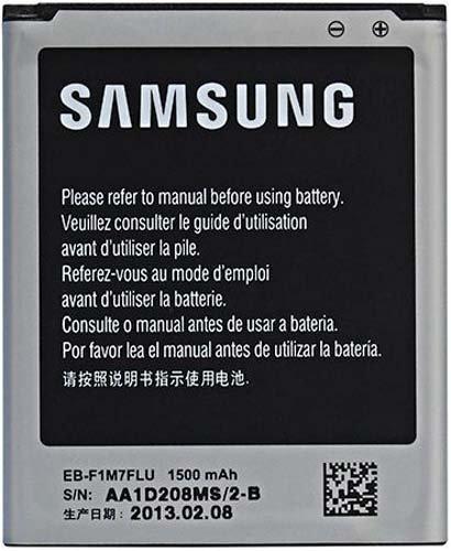 Samsung EB-F1M7FLU Battery for Galaxy S3 mini - Original OEM - Non-Retail Packaging - Grey
