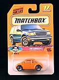 VW CONCEPT 1 * ORANGE * COOL CONCEPTS Series 3 MATCHBOX 1998 Basic Die-Cast Vehicle (#17 of 75)