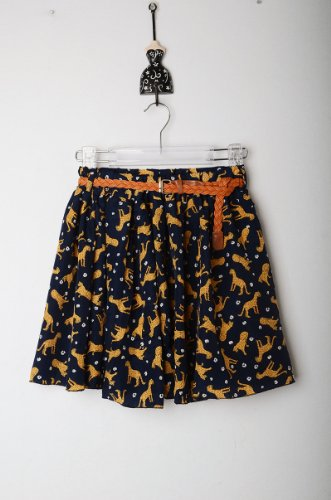 [Floral Skirts Lovely Fashionable Shorts (#24 Leopard)] (Lovely Leopard Sexy Costumes)