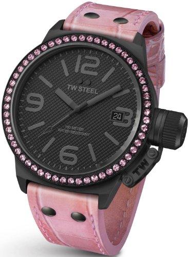 TW Steel TW911 - Reloj para mujeres, correa de cuero