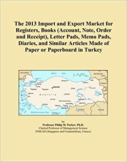 The 2013 Import And Export Market For Registers Books