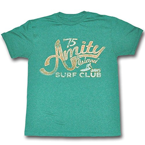 Jaws - Mens Amity Island Surf Club 1975 T-Shirt - S to XXL
