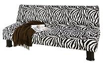Big Sale Primo International DJ-Maple Klik Klak Adjustable Sofa, Safari Zebra