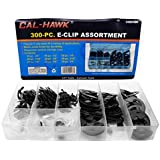 300pc E-Clip Retaining Ring Assortment - Automotive, Lawn/Garden Equip., Appliances