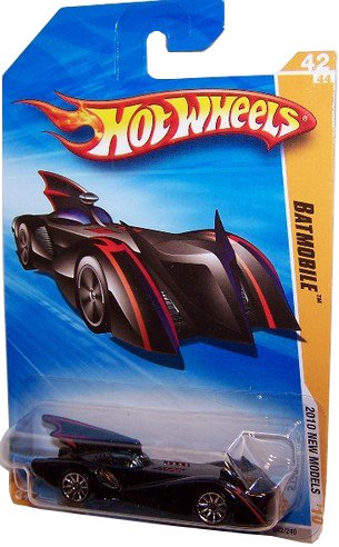 Mattel Hot Wheels 2010 New Models 42/44 Batmobile 1:64 Scale