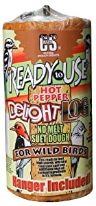 C & S Products RTU 2-Pound Hot Pepper Delight Log, 8-Piece