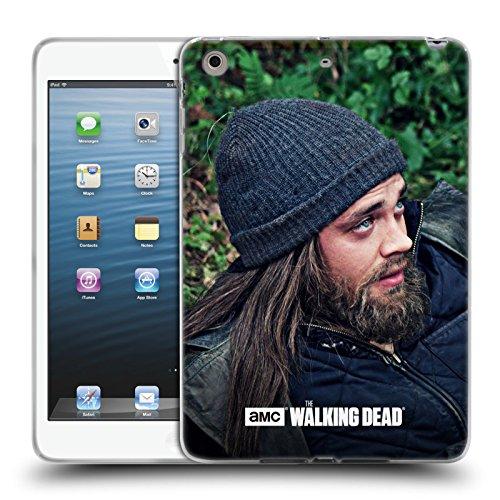 Ufficiale AMC The Walking Dead Profilo Jesus Cover Morbida In Gel Per Apple iPad mini 1 / 2 / 3