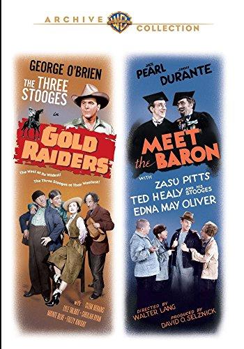 DVD : Gold Raiders / Meet The Baron