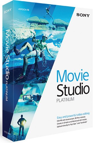 Sony Movie Studio 13 – édition platinum
