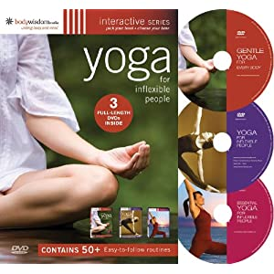 Yoga for Inflexible People (3 DVD set)