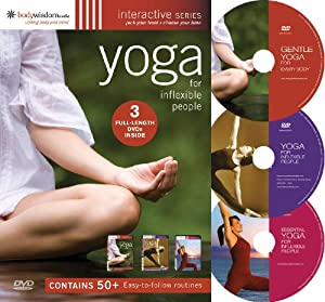 Yoga for Inflexible People 3 DVD Set (50 Routines)