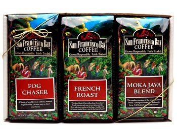 San Francisco Bay Coffee, Gourmet Coffee Sampler