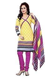 Krisha Print Women's Unstitched Fancy Printed Dress Materia