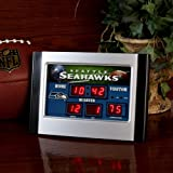 Seattle Seahawks Alarm Clock Desk Scoreboard at Amazon.com