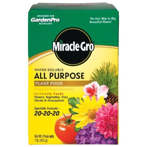 Amazon.com : Miracle-Gro Garden Pro All Purpose Plant Food 20-20-20