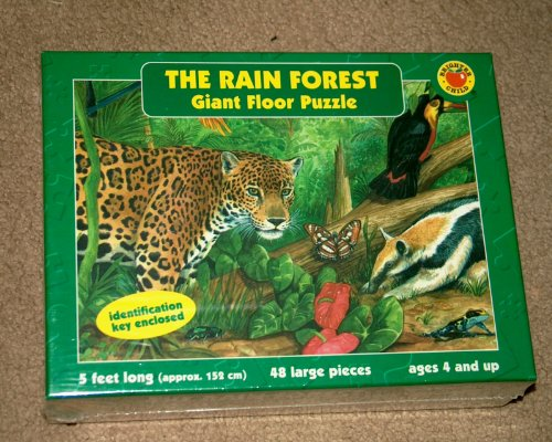 Cheap McGraw-Hill The Rain Forest Giant Floor Puzzle 5 Feet Long 48 Large Pieces (B004FGBX0Q)