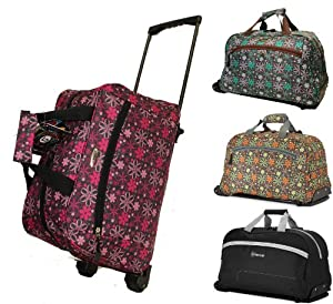 Small Wheeled Holdall Travel Bag Hand Luggage