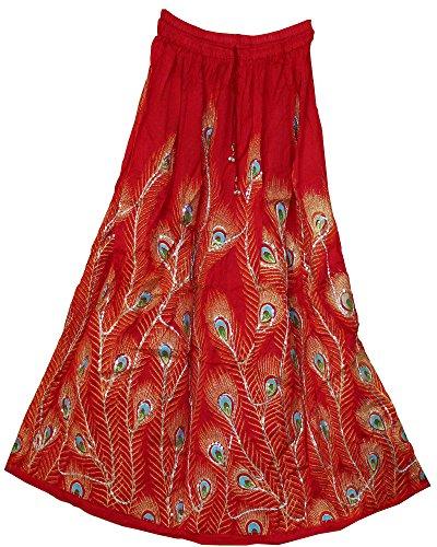 jnb-garments-gonna-donna-rosso-terquoise-taglia-unica-per-persone-minute