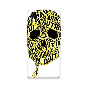 Mobicture Skull Abstract Premium Designer Mobile Back Case Cover For OnePlus X