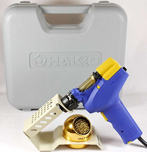 Hakko FR300-05/P (FR-300) Handheld Desolder Gun With 633-01 Holder (Hakko 808 Desoldering Gun compare prices)