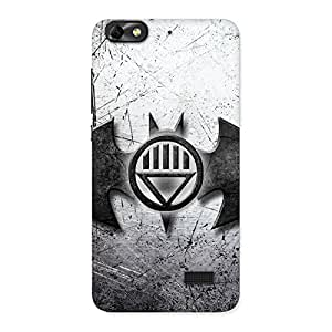 Gorgeous Black Knight Shade Back Case Cover for Honor 4C