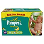 Pampers Baby Dry Couches Maxi + 9-20...