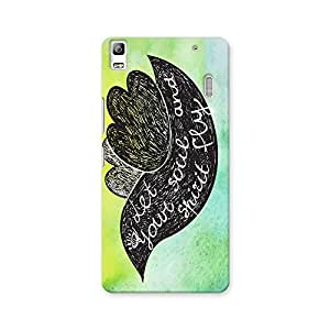 ArtzFolio Let Your Soul And Spirit Fly : Lenovo A7000 Matte Polycarbonate ORIGINAL BRANDED Mobile Cell Phone Protective BACK CASE COVER Protector : BEST DESIGNER Hard Shockproof Scratch-Proof Accessories