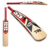 SS Sunridges Custom English Willow Cricket Bat, Short Handle, Medium Weight by SS