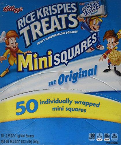 Rice Krispies Treats Original Mini Squares, 19.5 Ounce (Rice Squares compare prices)