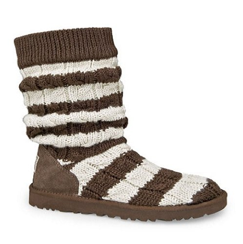 Cable Sweaters For Women Chocolate Tall Striped Cable