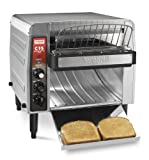 Waring Commercial CTS1000 Heavy-Duty Stainless Steel Conveyor Toaster, 120-volt