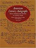 img - for American Literary Autographs from Washington Irving to Henry James by Herbert Cahoon (1977-06-01) book / textbook / text book