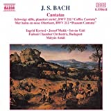 echange, troc Jean-Sébastien Bach, Compilation, Istvan Gati (baryton-basse), Budapest Failoni Chamber Orchestra, Matyas Antal (direction) - Cantates du café BWV 211 & des paysans BWV 212