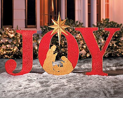 Nativity scene yard silhouettes displays christmas wikii for Large outdoor christmas signs