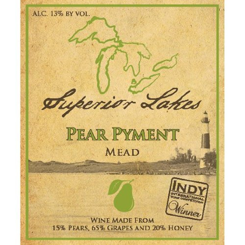 Nv Superior Lakes Pear Pyment 750 Ml