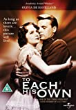 To Each His Own - Digitally Remastered [DVD]