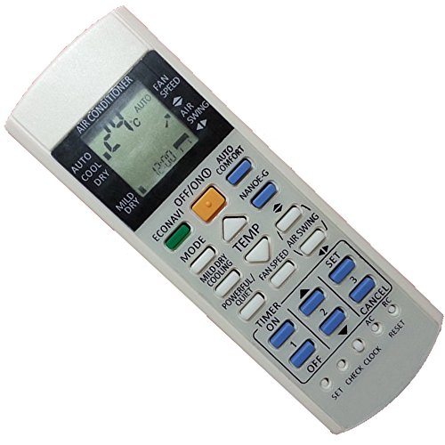 Generic Replacement Air Conditioner Remote Control for Panasonic A75c2998